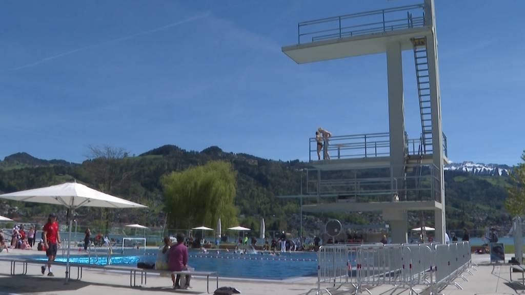 Badis eröffnen pünktlich mit dem warmen Wetter