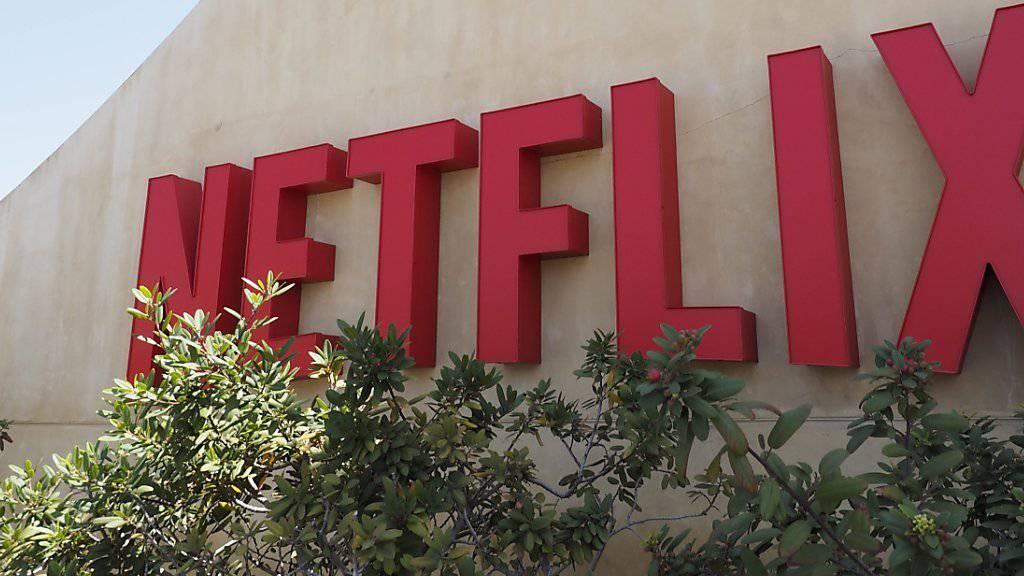 Blühendes Geschäft: Quartalszahlen des Streamingdienstes Netflix lässt die Aktien in die Höhe schiessen. (Archiv)