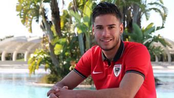 Miguel Peralta ist bereits zum dritten Mal mit dem FC Aarau im Trainingslager – und trotzdem ist dieses Mal alles anders.DFS