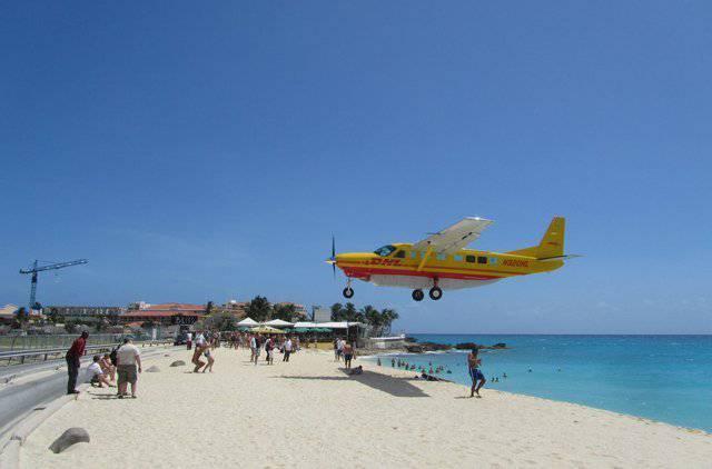 Maho Beach, Saint Martin