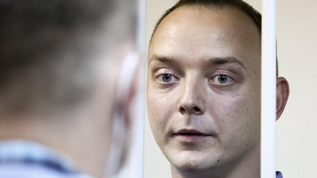 Anklage gegen russischen Journalisten wegen Hochverrats erhoben