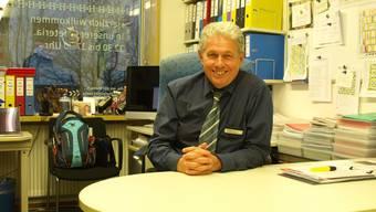 Marco Petruzzi leitet das Haus zur Heimat in Olten seit fünf Jahren. Der 60-jährige blickt auf knapp drei Jahrzehnte Heimleitungserfahrung zurück.