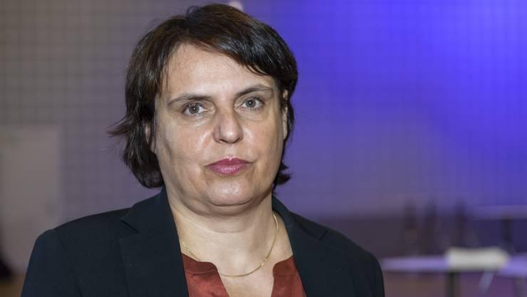 Erzielte am Wahlsonntag in Basel-Stadt überraschend ein schlechtes Resultat: Regierungsratspräsidentin Elisabeth Ackermann von den Grünen.
