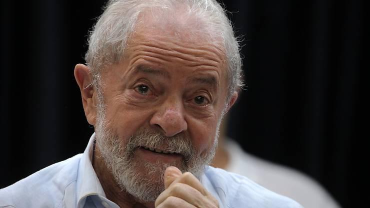 ARCHIV - Luiz Inácio «Lula» da Silva:  «Sie haben eine Farce kreiert, um meine Kandidatur zu verhindern.» Foto: Paulo Lopes/ZUMA Wire/dpa