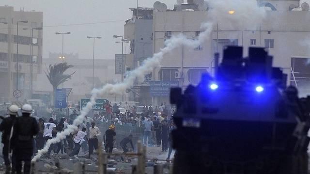 Strassenschlacht in Bahrain