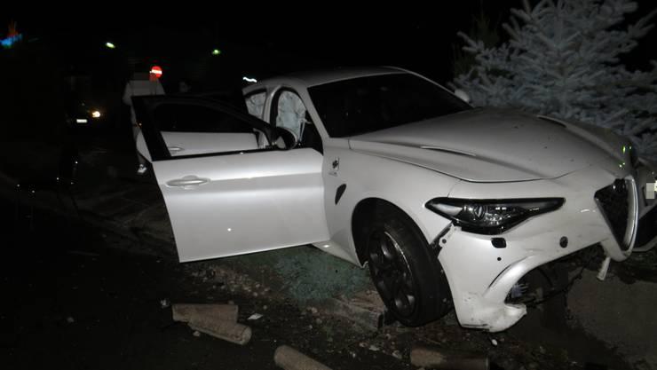 Der 21-jährige Italiener hatte die Kontrolle über sein Auto verloren...