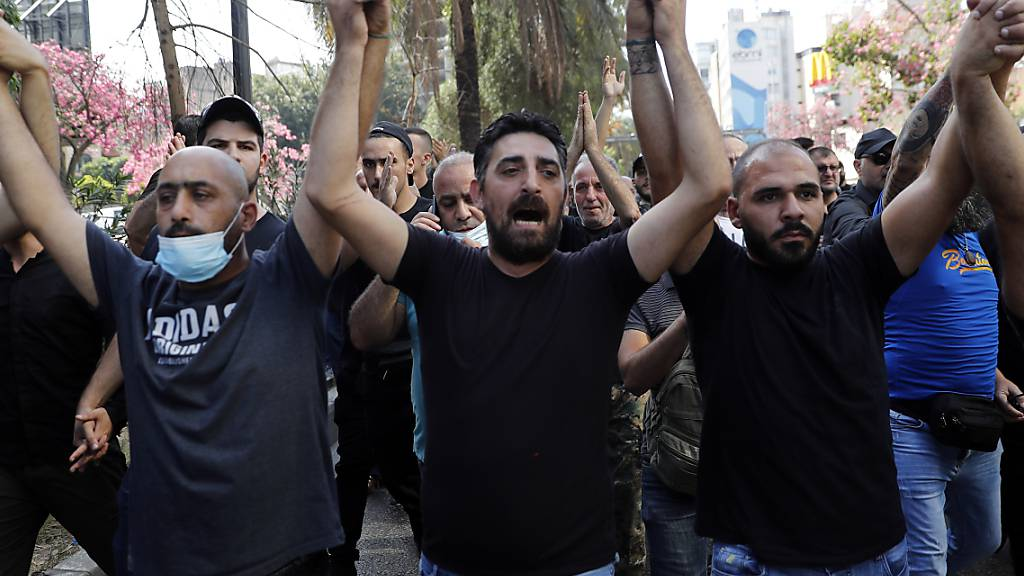 Mindestens ein Toter und sieben Verletzte bei Protesten in Beirut