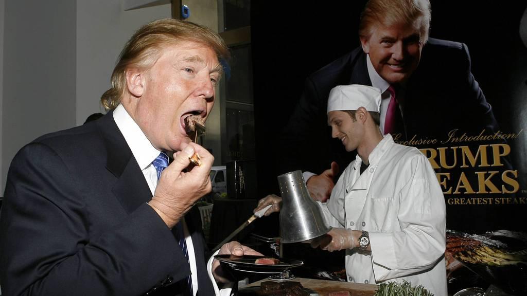 Von Trump gab es Lobster mit Safransauce und Häme für die Restauranttesterin.