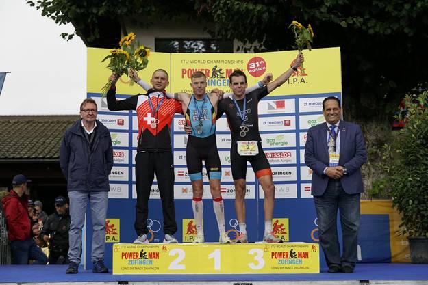 Den Sieg holt sich der Belgier Diego Van Looy. Darauf folgt der Schweizer Jens-Michael Gossauer. Bronze geht an Belgier Seppe Odeyn.