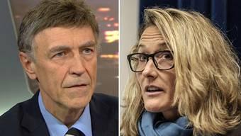 Bekannt ist, dass die SVP im Herbst den Sitz der grünen Regierungsrätin Susanne Hochuli mit zwei Kandidaten angreifen will. Jetzt fordert SVP-Nationalrat Luzi Stamm einen dritten Kandidaten.