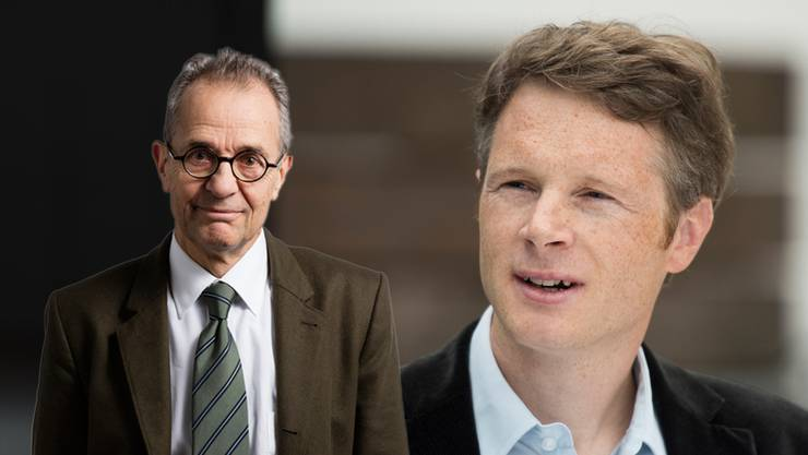 Jonas Fricker (rechts) trat nach seinem umstrittenen Vergleich aus dem Nationalrat zurück. Das hätte nicht sein müssen, findet SP-Nationalrat Tim Guldimann.