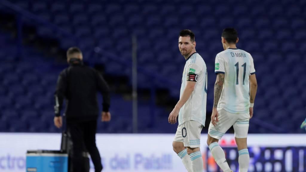 Argentinien verpasst Sieg gegen Paraguay