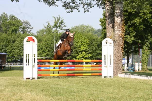 ..wurden die Pferde über die Hindernisse gejagd. (Jessica Dubois)