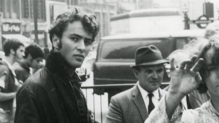 Lipscher 1968, kurz vor der Flucht aus der Tschechoslowakei nach London.