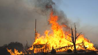 Die Brände im Norden Kaliforniens breiten sich rasch aus.
