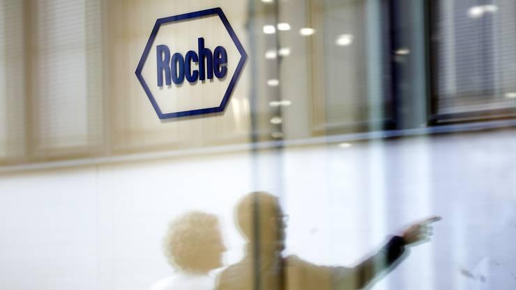 Bei einer Roche-Geschäftsstelle kam es zu Durchsuchungen. (Archivbild)