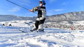 So wie im vergangenen Winter, soll es auch künftig möglich sein, in Welschenrohr das Skilift- und Skifahren zu lernen.