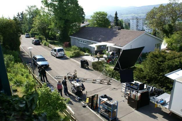 Unterengstringens Villenquartier dient als Filmkulisse.