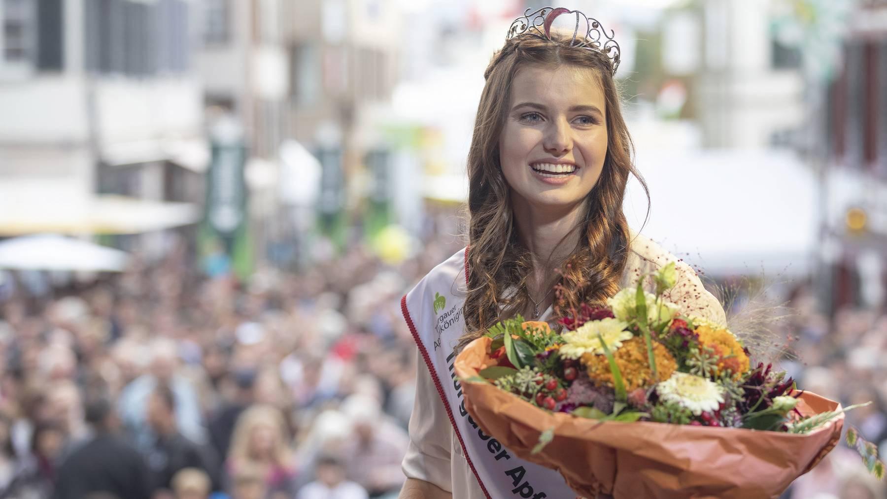 Thurgauer Apfelkoenigin 2019/2020 Larissa Häberli