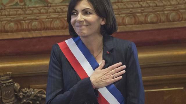 Die neue Bürgermeisterin von Paris: Anne Hidalgo