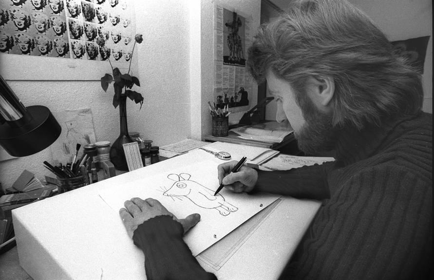 Der Schweizer Friedrich Streich zeichnete die Maus.