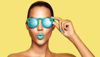Mit der Brille können kurze Videos aus der Ich-Perspektive aufgenommen werden.