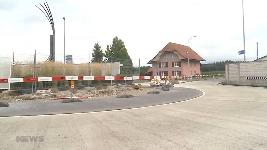 Kreiselsanierung in Herzogenbuchsee geht in die zweite Runde
