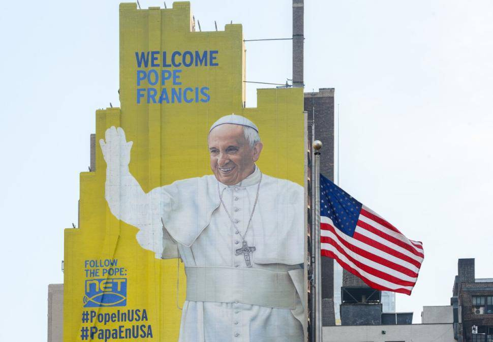 Papst auf USA-Reise (© Getty Images)