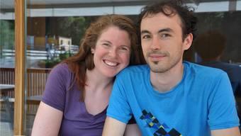 Nathalie Weissbrodt und Dersu Huber aus Nidau: «Wir sind mit dem Velo unterwegs und bleiben für eine Nacht in der Jugi. Baden liegt auf unserer Reisestrecke, deshalb sind wir hier. Die Stadt gefällt uns, wir waren erstaunt, wie schön es hier ist.»
