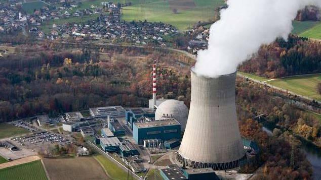 Ein Schweizer Atomkraftwerk