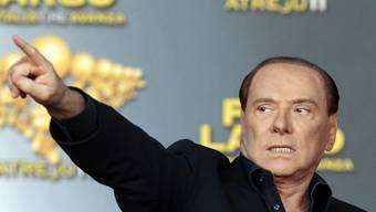 Auf diesem Bild war Silvio Berlusconi noch 74-jährig (Archiv)