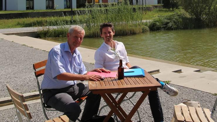 Thomas (links) und Stefan Saner führen zusammen saner consulting.