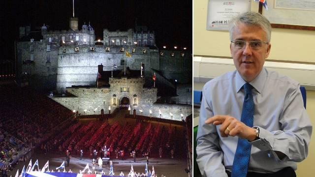Alan W. Smith ist Marketingmanager des Royal Edinburgh Tattoo.