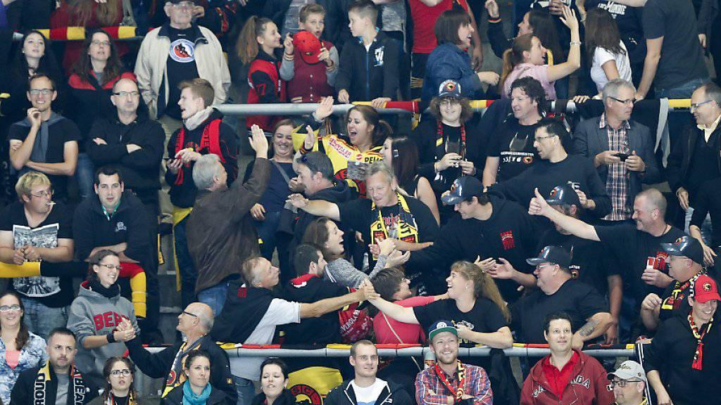 Der SC Bern kann auf den zahlreichen Support seiner Fans zählen (Archivbild)