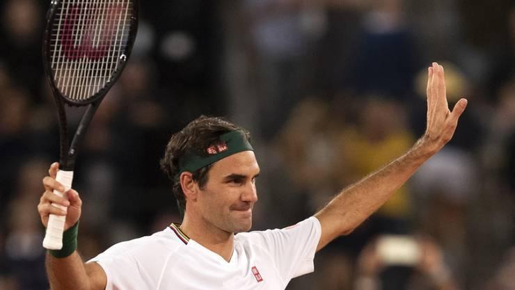 Auch abseits des Tennisplatzes ein Vorbild: Zusammen mit seiner Frau Mirka spendet Roger Federer eine Million Franken für gefährdete Familien.