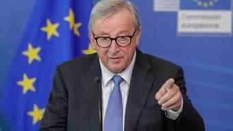 Am EU-Sondergipfel am Sonntagabend soll der Streit über die Nachfolge von Kommissionschef Jean-Claude Juncker nach einer fünfwöchigen Hängepartie beigelegt werden. (Archivbild)