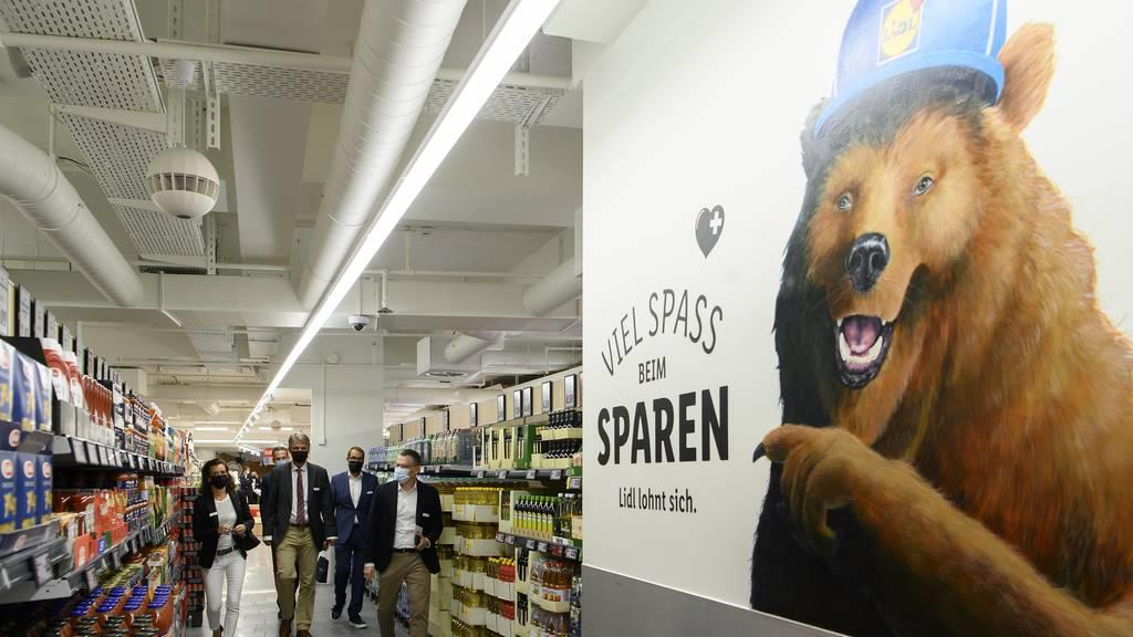 Lidl eröffnet Filiale im Loeb Bern