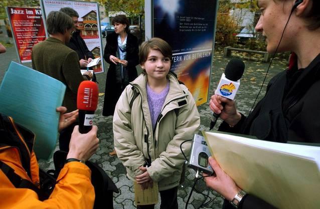 Die elfjährige Vanesa Franca aus Montenegro wurde in Emmen dank ihres Namens eingebürgert.