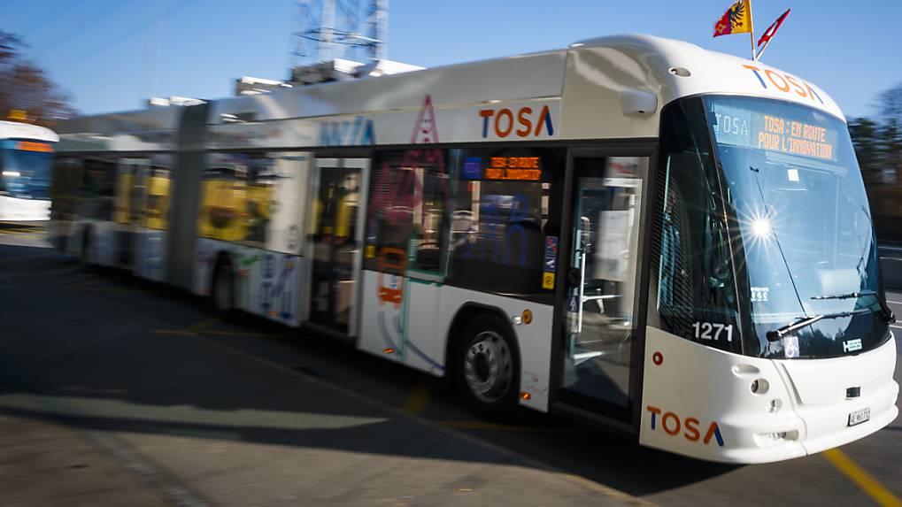 Weltneuheit in Genf: Elektrobusse mit Schnellladefunktion