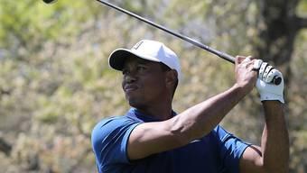 Tiger Woods musste seinen Abschlägen öfters skeptisch nachschauen