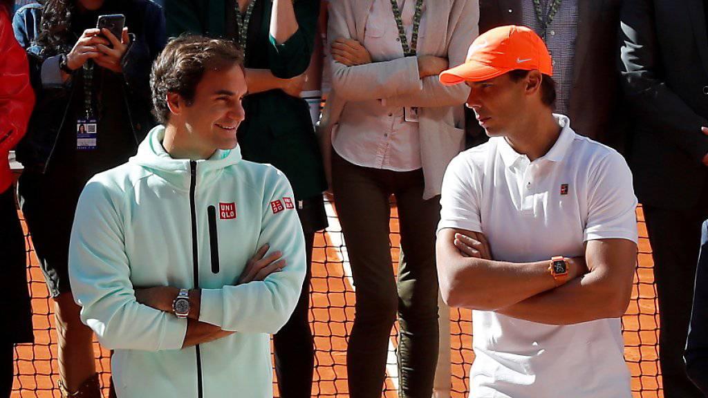 Federer und Rafael Nadal können sich in Madrid erst im Final begegnen