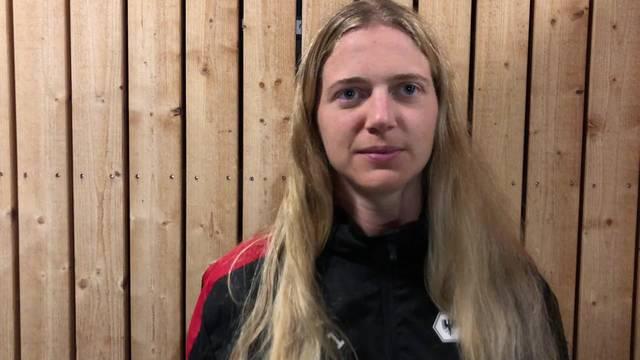 FC Aarau Frauen: Captain Fabienne Kohler im Interview nach dem Spiel gegen GC