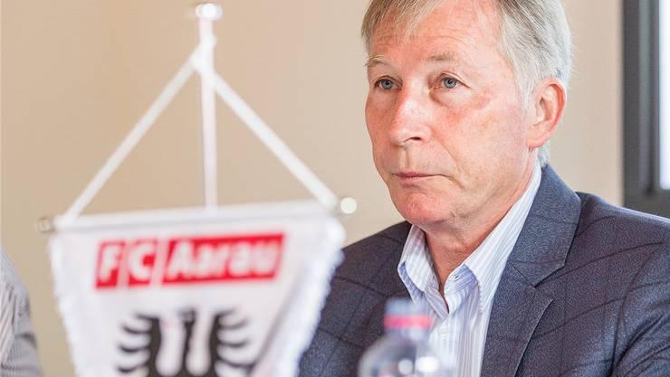 FCA-Präsident Alfred Schmid.