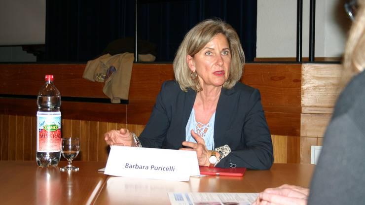 Freut sich auf den Brückenbau: Barbara Puricelli (FDP, bisher)