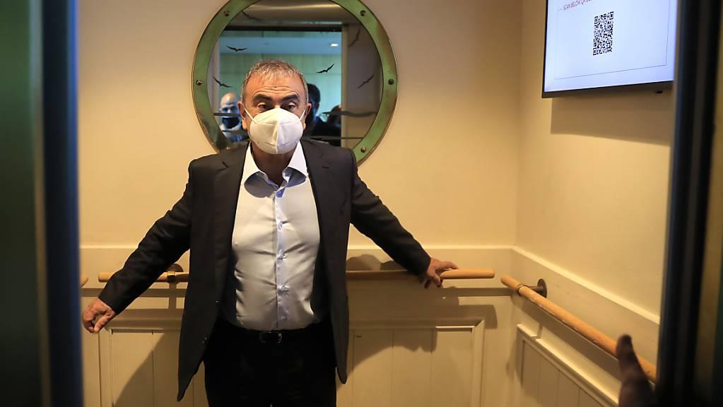 Die Fluchthelfer von Ex-Autoboss Carlos Ghosn (Archivbild) müssen ins Gefängnis.