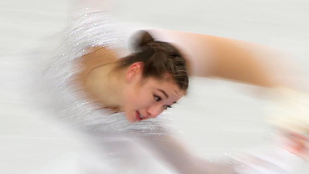 Yasmine Yamada kann mit den Europameisterschaften zufrieden sein