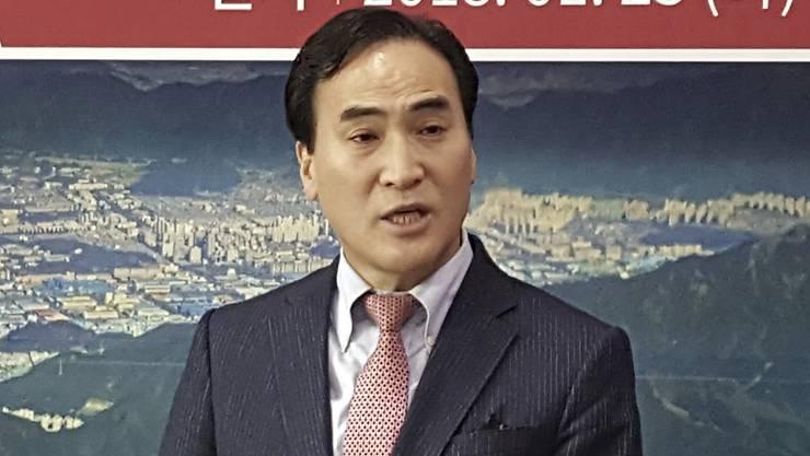 Nach heftigem Streit zum neuen Chef von Interpol gewählt worden: der Südkoreaner Kim Jong Yang. (Symbolbild)