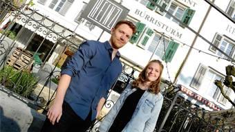 Florian Stüdeli und Joëlle Gutedel kennt man vom Foodtruck «Le Schnauz».Teilzeitig werden sie nun als Barbetreiber von «Heinz» quasi «sesshaft.»