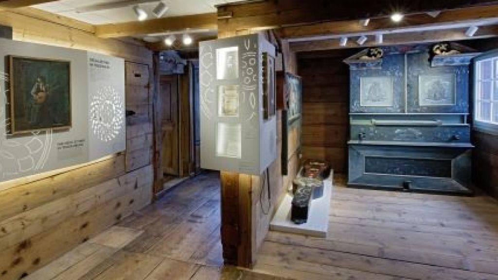 Das Ackerhus Museum für Toggenburger Hauskultur in Ebnat-Kappel (SG) ist eines von vier Schweizer Museen, welche für den Museum of the Year Award 2018 nominiert sind. (Pressebild)