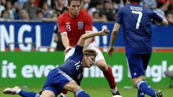 England (hier Frank Lampard, mitte) ist weiter auf der Suche nach der WM-Form